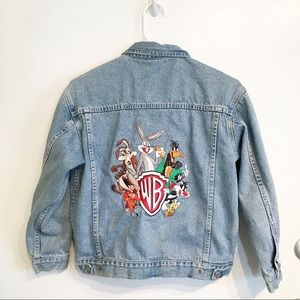 Vintage Warner Brothers Looney Tunes Denim Jacket